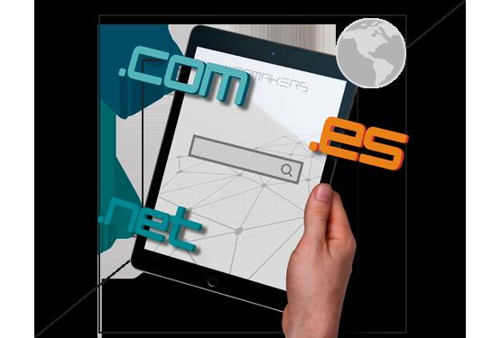Venta y registro de dominios