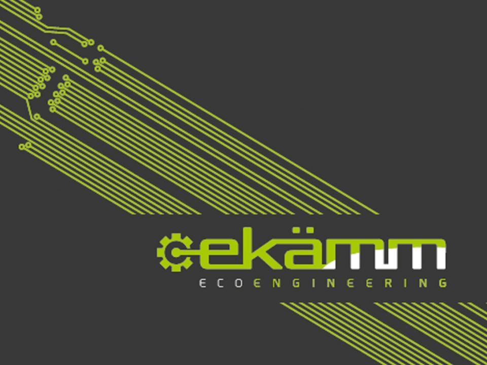 Diseño de logotipo y material corporativo para ekamm