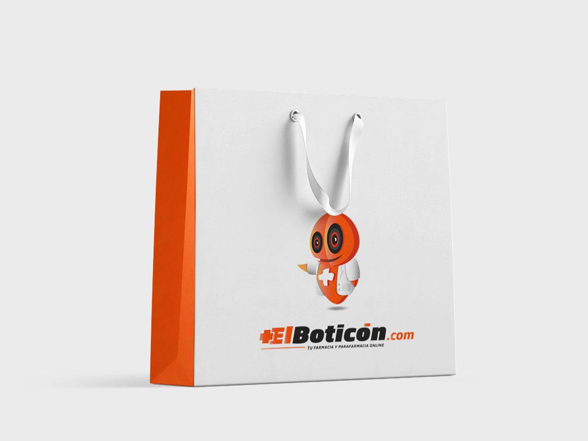 Diseño de Bolsas de papel para farmacias