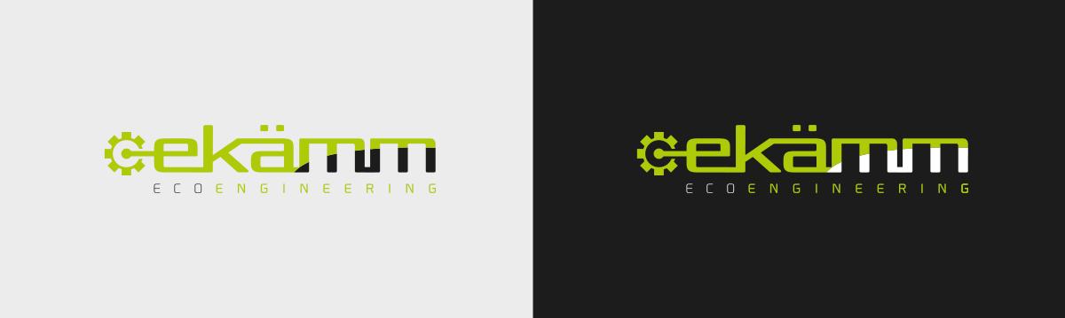 logotipo de empresa de ingenieria Ekamm