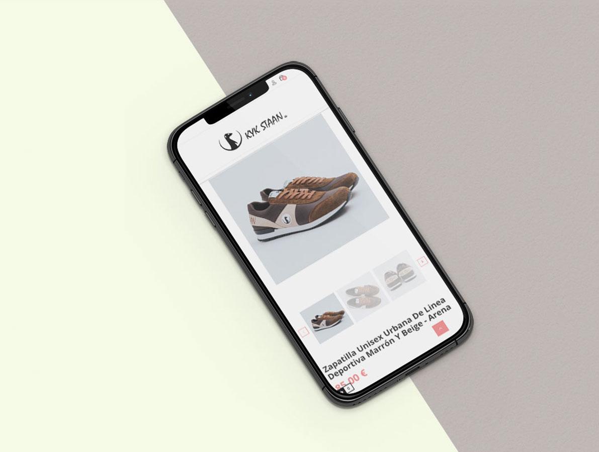 diseño web responsive Kykstaan